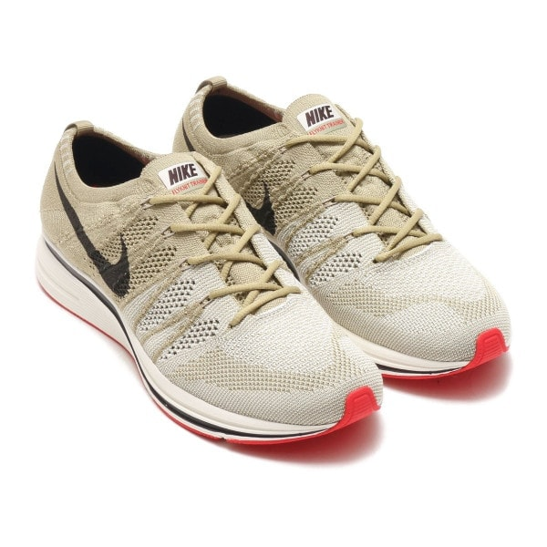"91612dcf5d05 Nike Flyknit Trainer ""Neutral Olive"" Release Date  Coming Soon Price   150.  Color  Neutral Olive Sail University Red Velvet Brown Style Code  AH8396-201"