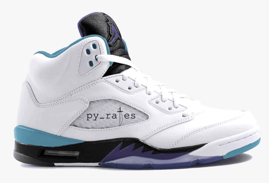 "Air Jordan 5 NRG ""Grape Ice"" Color  White Grape Ice-Black-New Emerald  Release Date  July 2018 658528d3d19e"
