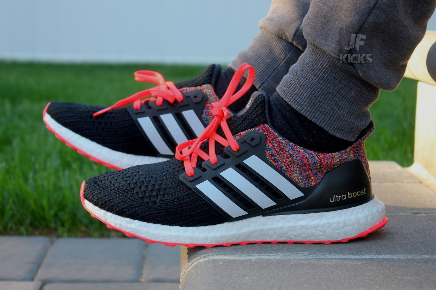 f42c0f42f We gave the process a shot and created our own custom Ultra Boost  Multicolor