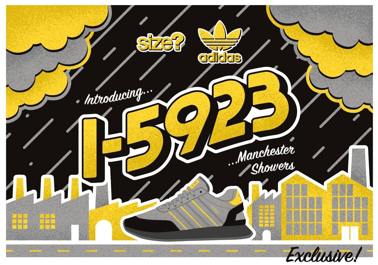 Size? x adidas I-5923 \