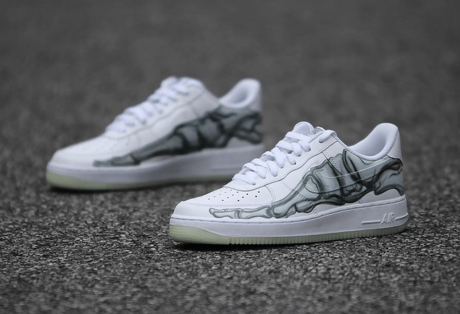 Nike Air Force 1 Qs Skeleton Release Info Justfreshkicks