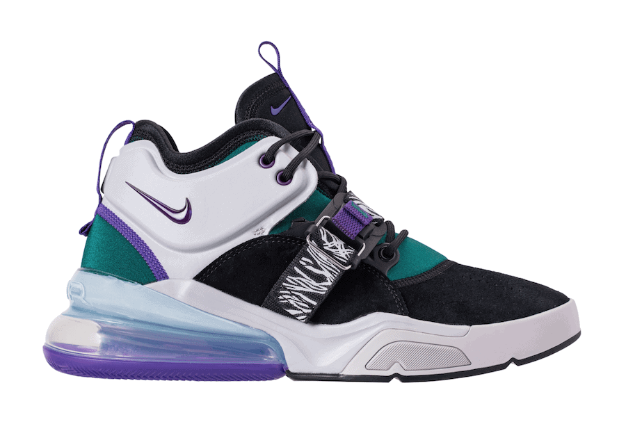 hot sale online 8ca6f c066e Nike Pays Homages to the Original Air Carnivore with a New Air Force 270  Colorway