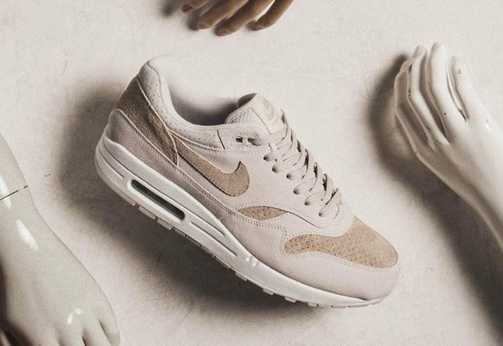 low cost 06c9d 904f2 Nike Air Max 1 Premium Release Date  Available Now Color  Desert  Sand Sand-Sail Style Code  875844-004. Price   130