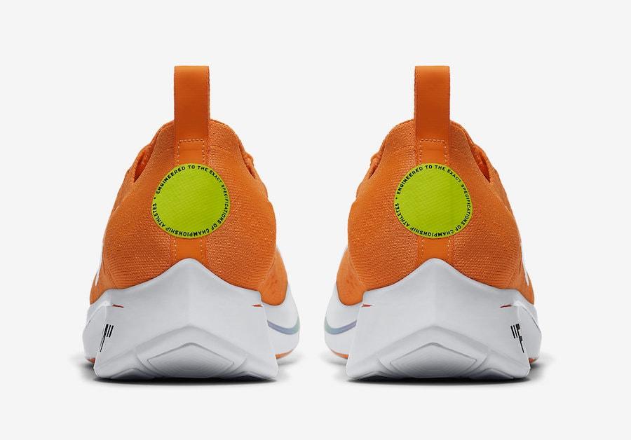 7fdac60288749 Off-White x Nike Zoom Fly Mercurial Flyknit – Orange Release Date  June 14