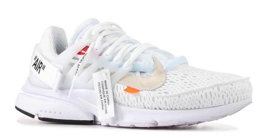 81abe60f312 The post The Off-White x Nike Air Presto is Coming Soon in Black   White  appeared first on JustFreshKicks.