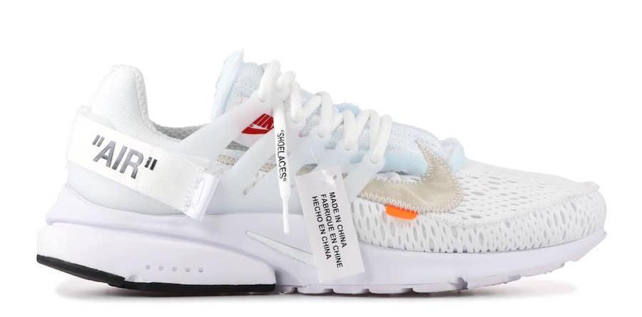 enaguas Otros lugares En Vivo  Off-White x Nike Air Presto B&W Pack Drop Info - JustFreshKicks