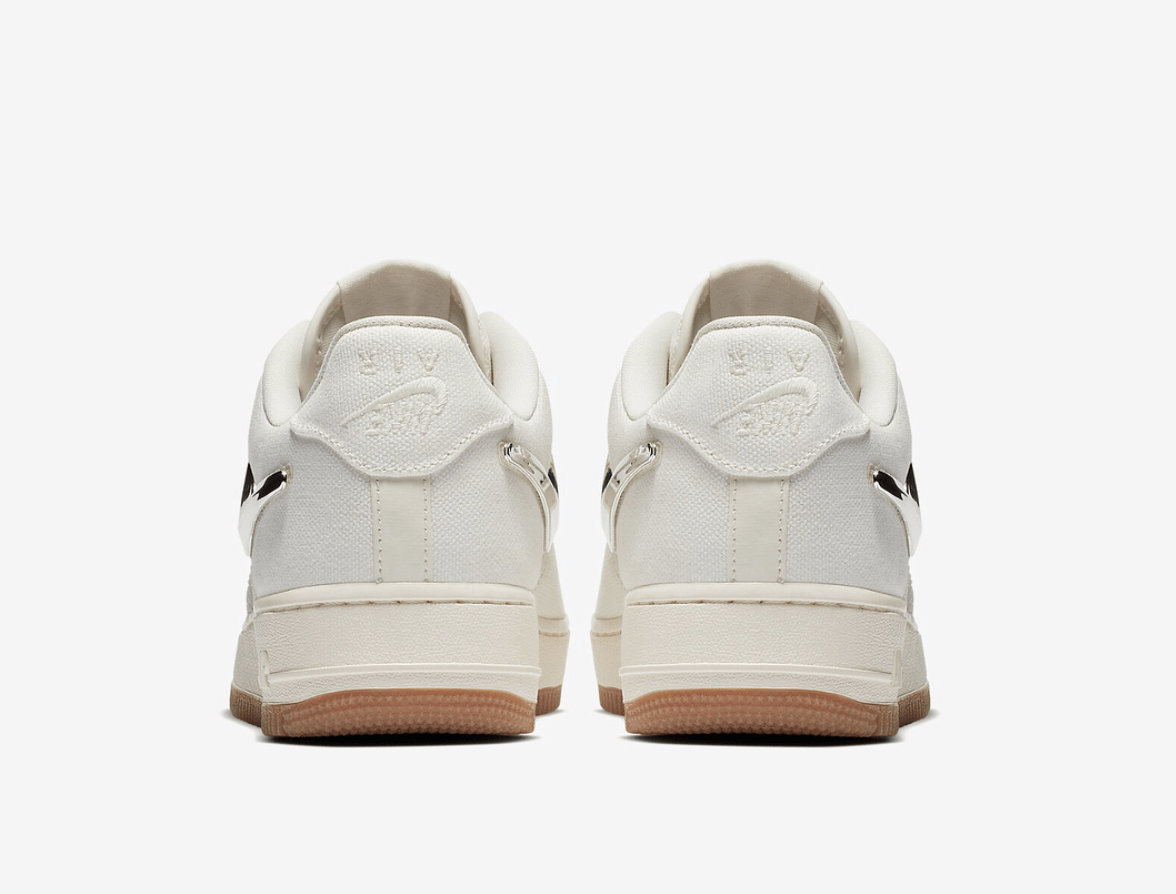 Travis Scott x Nike Air Force 1 Low Release Date  July 2018. Price   150.  Color  Sail Gum Light Brown Sail 631705603