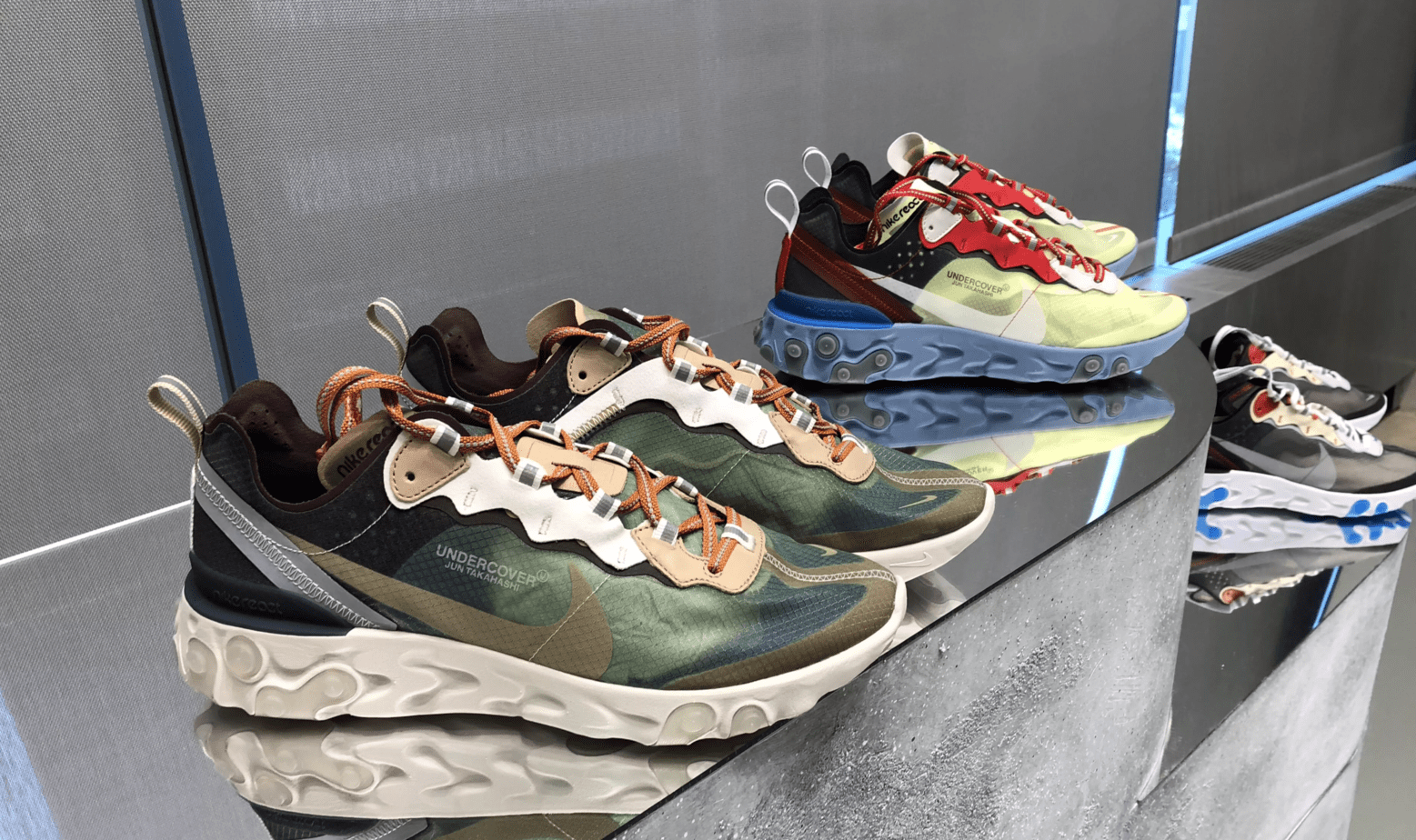 5e68170936a4b The Undercover x Nike Epic React Element 87 Will Release in at Least Five  Colorways