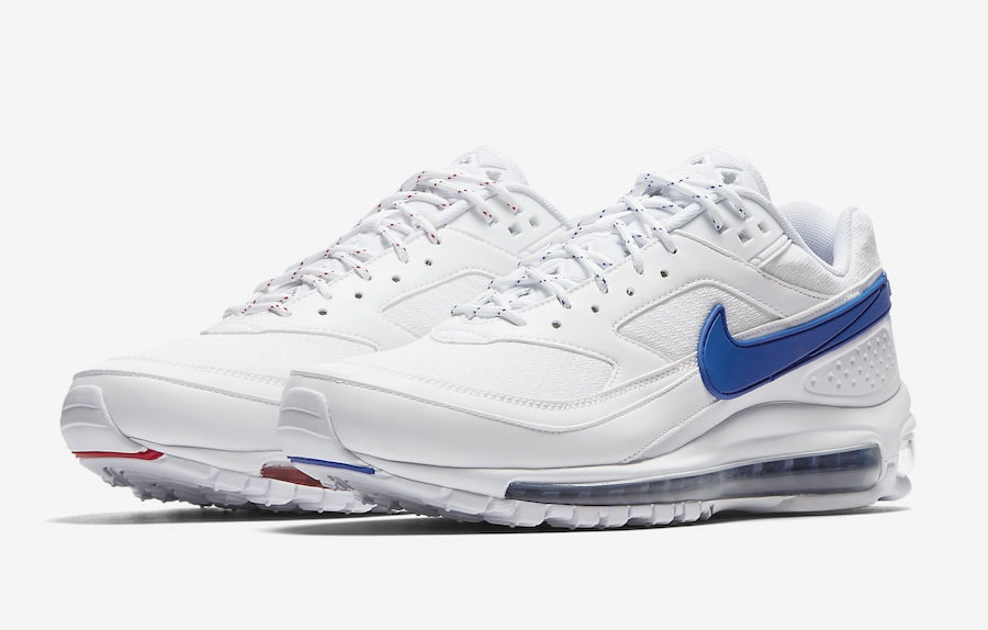 huge discount 574d6 5204a Skepta x Nike Air Max 97 BW Release Date  May 19th, 2018. Price   180.  Color  Summit White Hyper Cobalt Style Code  AO2113-100