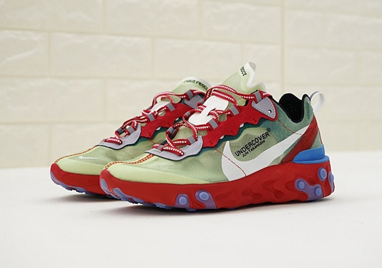 78f908388667 Undercover x Nike React Element 87. Release Date  September 13th