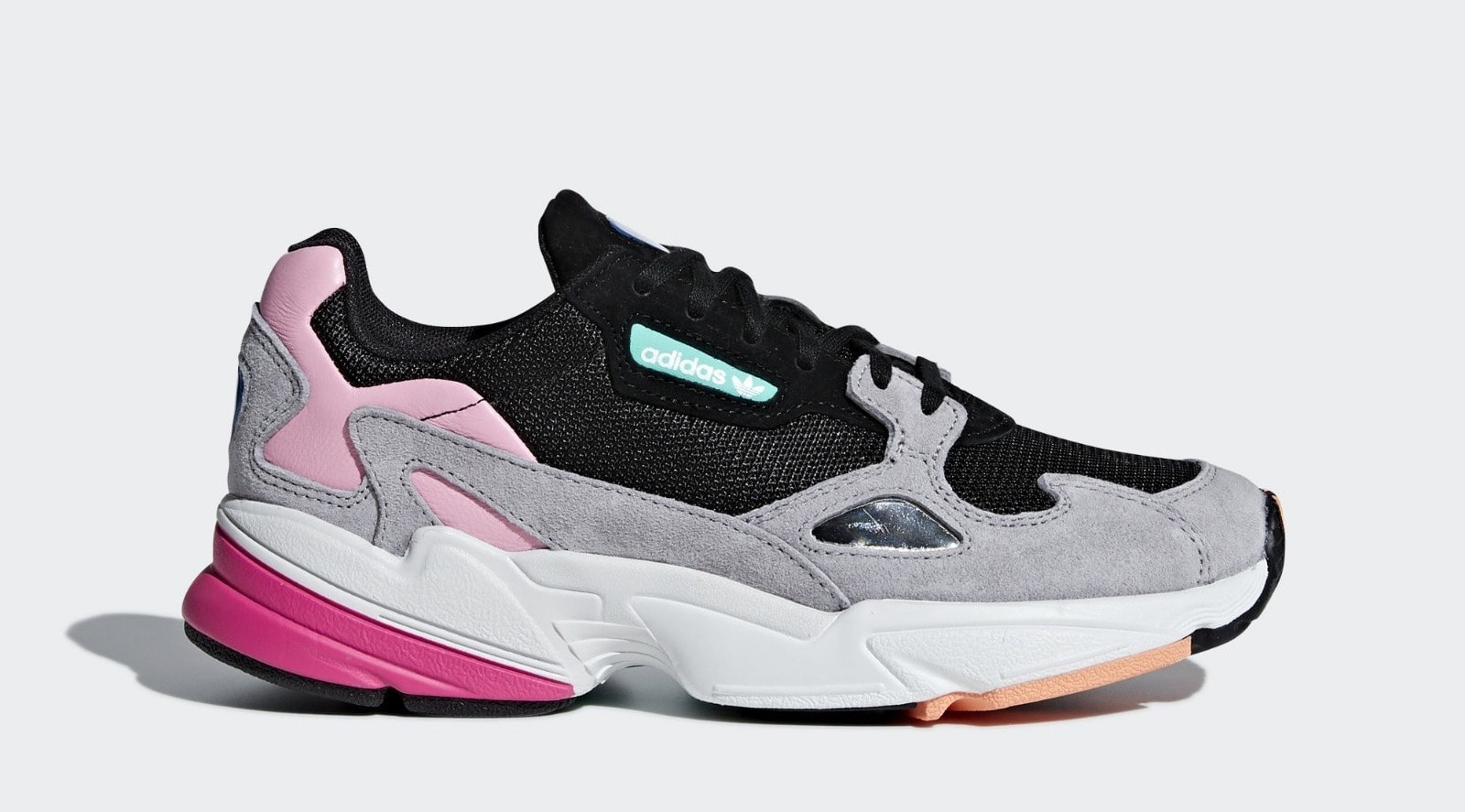 hot sale online 12e45 329ce With several new silhouettes already making waves among consumers, the  Three Stripes has renovated a 90 s classic into the modern adidas Falcon,  ...