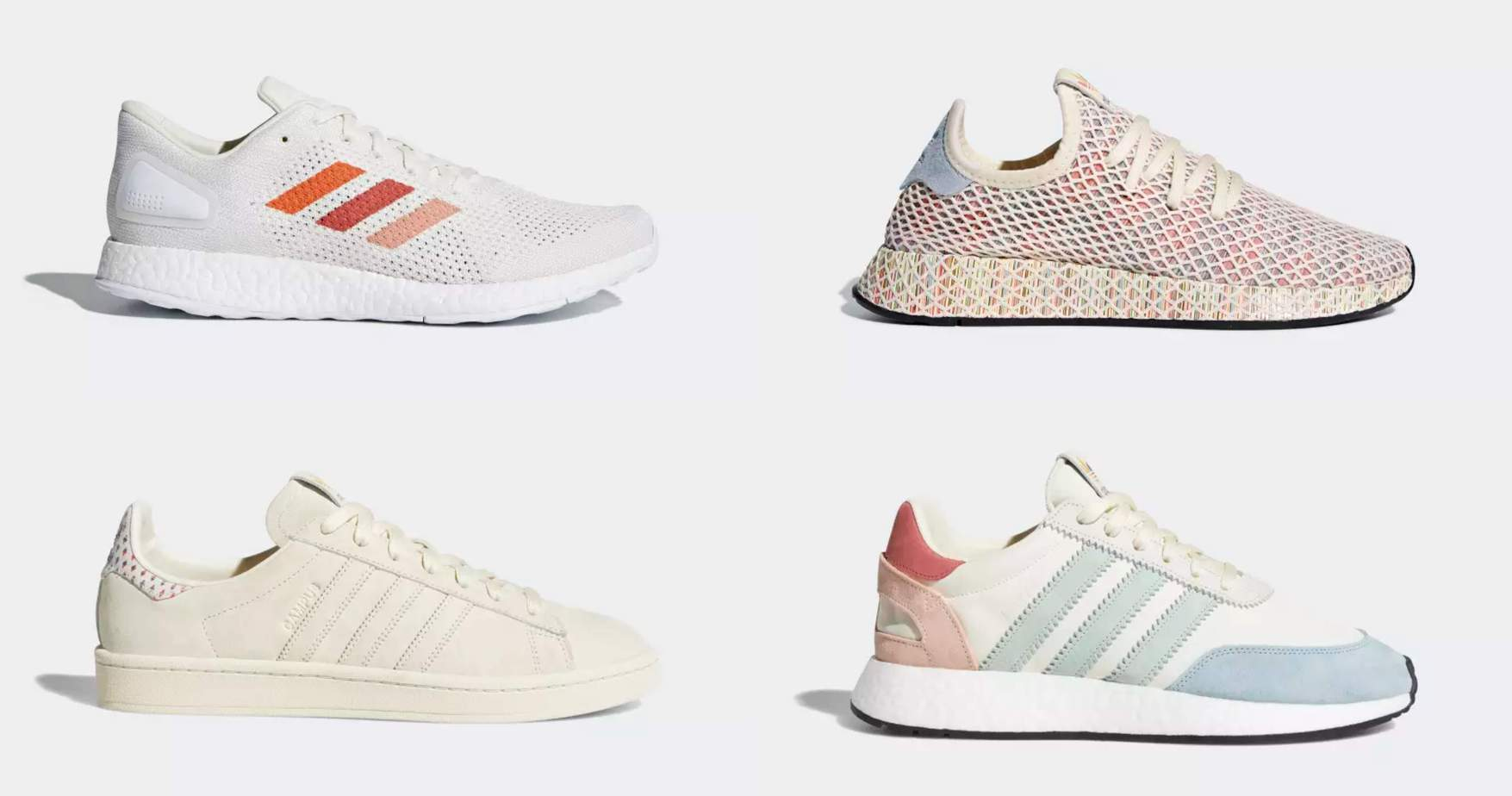 2e68b9c8711 adidas Reveals Their Pastel Rainbow-Colored Pride Collection Coming in June