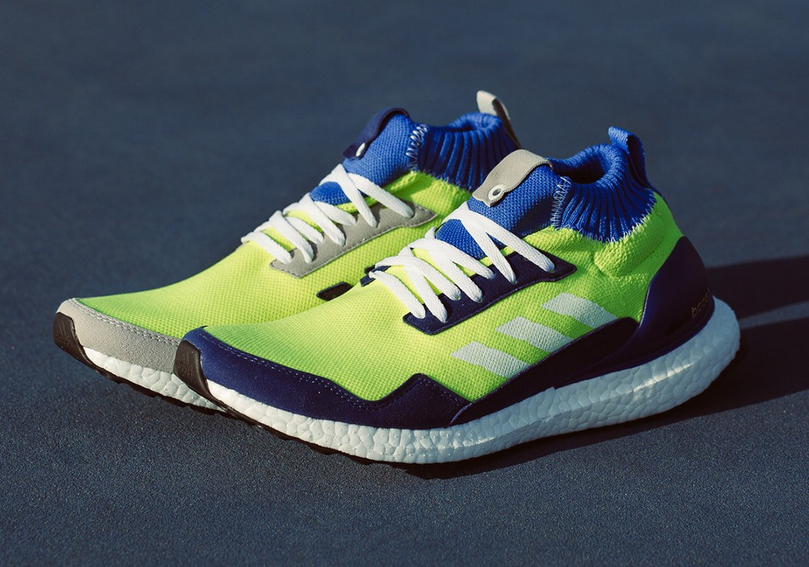 watch 0687c 8cc9a The adidas Ultra Boost Mid is one of the most popular variations of the  silhouette. Reserved exclusively for Consortium releases, the sleek mid-cut  ...