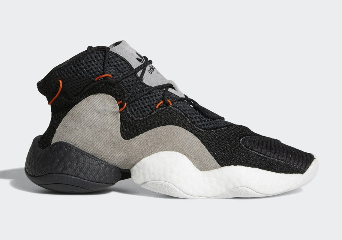 """release date: e69d5 bc6b5 With so much potential for incredible colorways, adidas is taking a great  first step with this new """"Carbon"""" Crazy BYW LVL ..."""