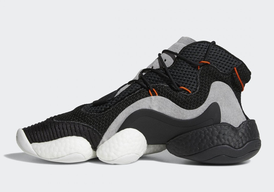 "37ed7e5f0d4 The adidas Crazy BYW LVL 1 Arrives in a Clean ""Carbon"" Colorway This ..."