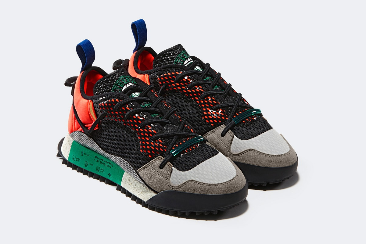 Alexander Wang by adidas Originals Reissue Run Release Date: May 19th,  2018. Price: $220. Color: Orange/Black/White Style Code: AQ1233