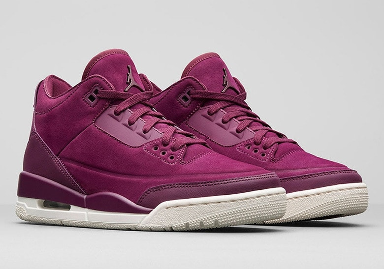 "more photos 8ea8c 0e22e Air Jordan is releasing a slew of premium women s exclusive colorways this  year. The latest to surface in an online leak paints the Jordan 3 in a  smooth "" ..."