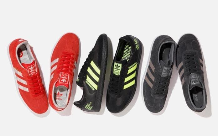 size 40 1f0bc d783d This year, the Three Stripes combines their love of Japanese fashion with  soccer for a new World-cup inspired collection of ...