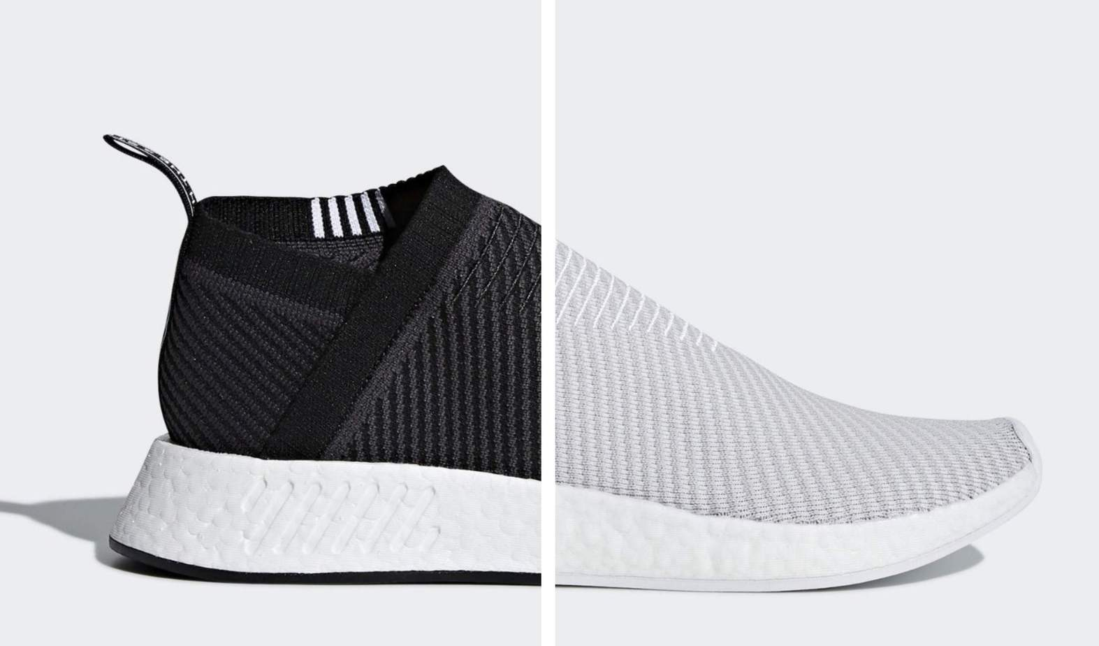 7122988e999c26 adidas  Sleek NMD City Sock 2 Launches in Basic Black   White This Summer
