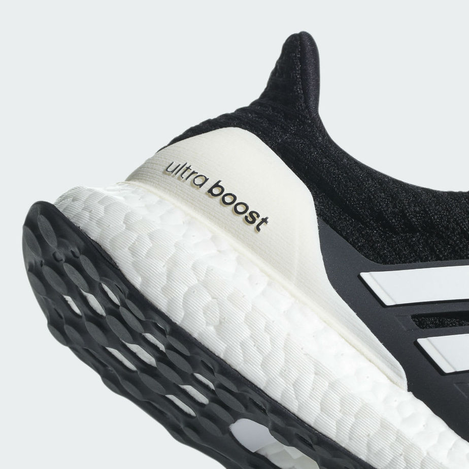 "eb3d5a6a7 adidas Ultra Boost 4.0 ""Show Your Stripes"" Release Date  August 2018.  Price   180. Color  Core Black Cloud White FTWR White Style Code  AQ0062"