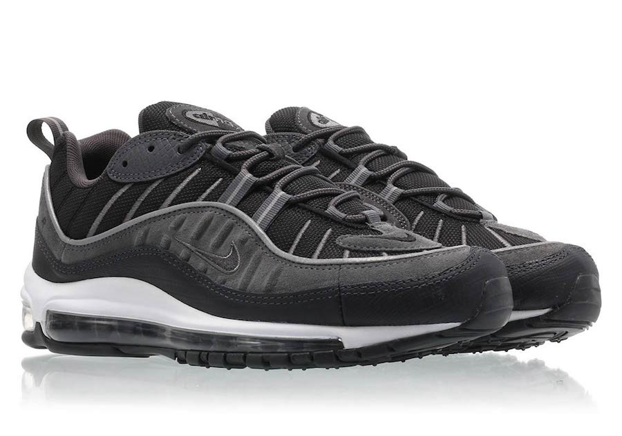 61365fde7a355 Nike Air Max 98 SE Release Date  Coming Soon Price   160. Color  Black  Anthracite-Dark Grey-White Style Code  AO9380-001