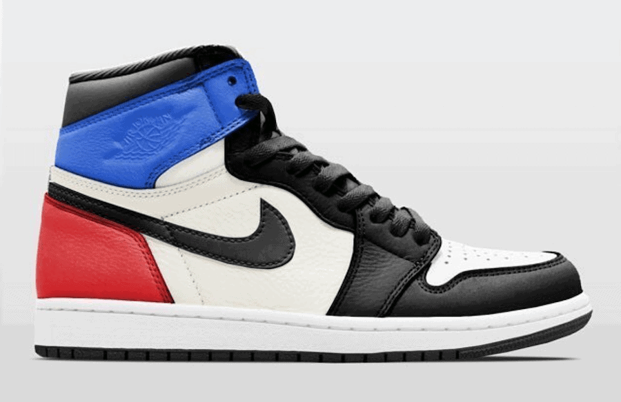 8563a9d993a6 Air Jordan 1 Retro High OG Release Date  December 2018. Price   160. Color   Black Sail-University Blue-Varsity Red Style Code  555088-015