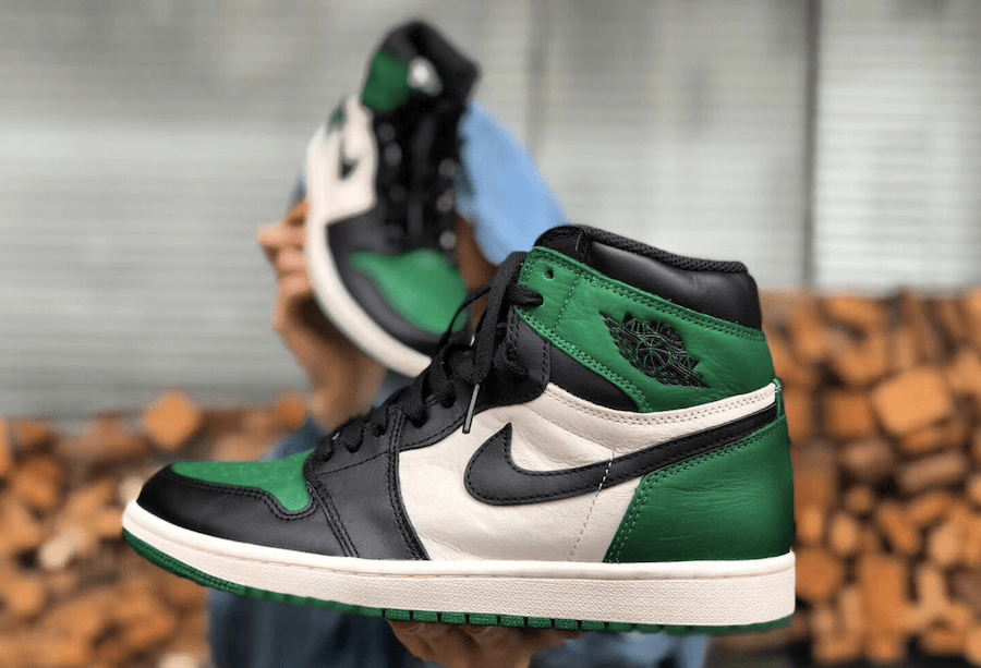 "cd98a2d3e755 The Air Jordan 1 High is Going Green This Fall With a New ""Pine"" Colorway"