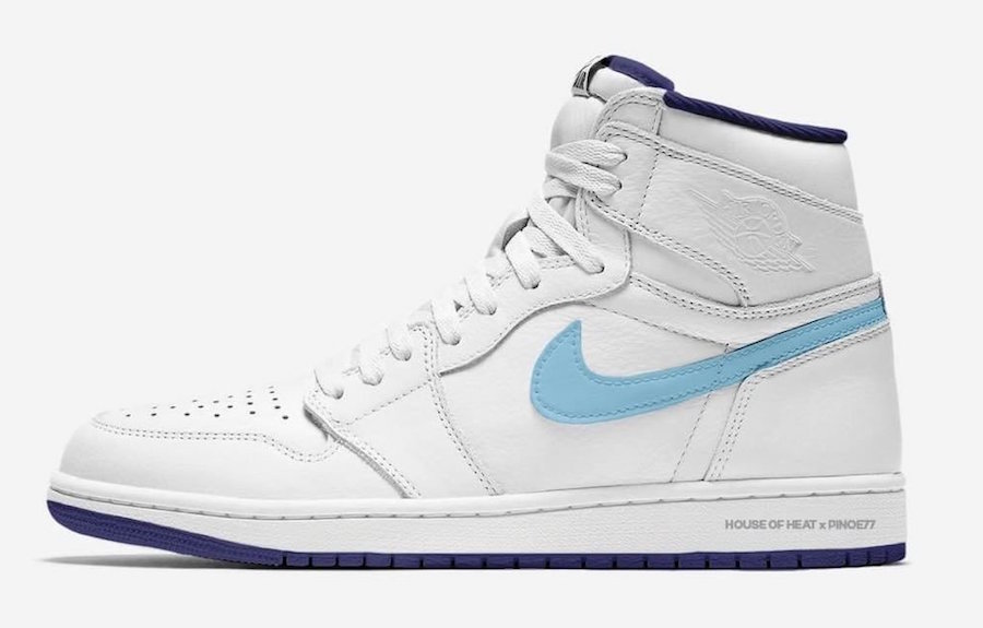 "950f78b112aa24 Air Jordan 1 Retro High OG ""All Star 2019"" Release Date  February 2018.  Price   160. Color  White University Blue Navy"