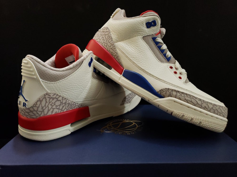 "6de99d9556e7 The post Take a Closer Look at the Air Jordan 3 ""USA"" Arriving This Month  appeared first on JustFreshKicks."