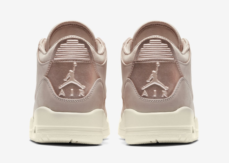 "7dacca709bf The post The Air Jordan 3 Arrives in a Women s Exclusive ""Particle Beige""  Next Week appeared first on JustFreshKicks."