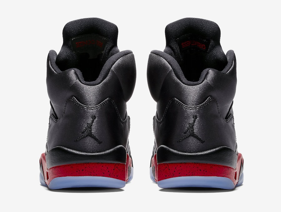 quality design dd758 31003 Air Jordan 5 Satin Release Date  November 3rd, 2018. Price   190. Color   Black University Red Style Code  136027-006