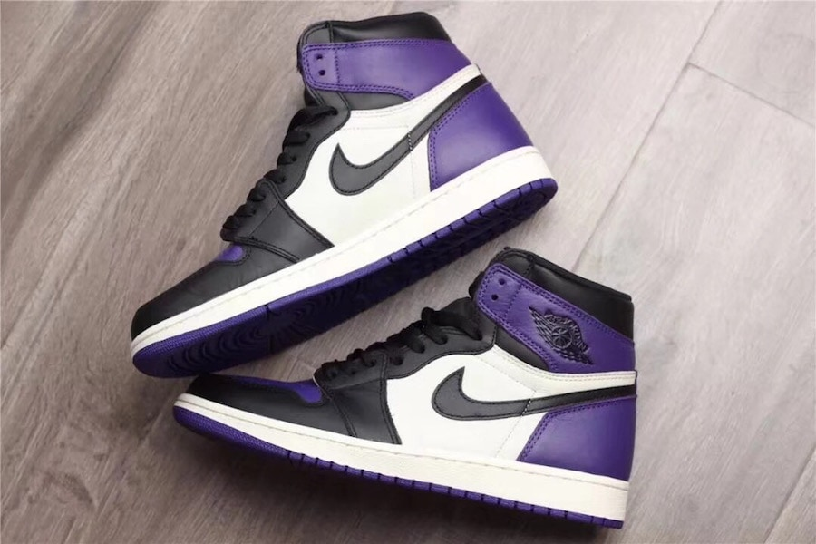 sneakers for cheap 45e88 ec77d Air Jordan 1 Retro High OG Purple Release Date  September 22nd, 2018.  Price   160. Color  Court Purple Sail-Black Style Code  555088-501