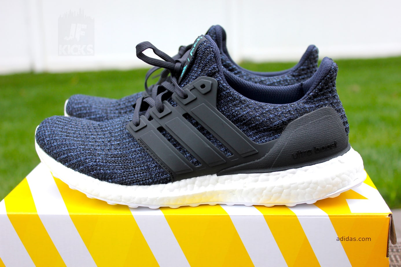 "384ec778e7dbf Parley x adidas Ultra Boost ""Deep Ocean"" Color  Legend Ink Carbon-Blue  Spirit Release Date  June 20th"