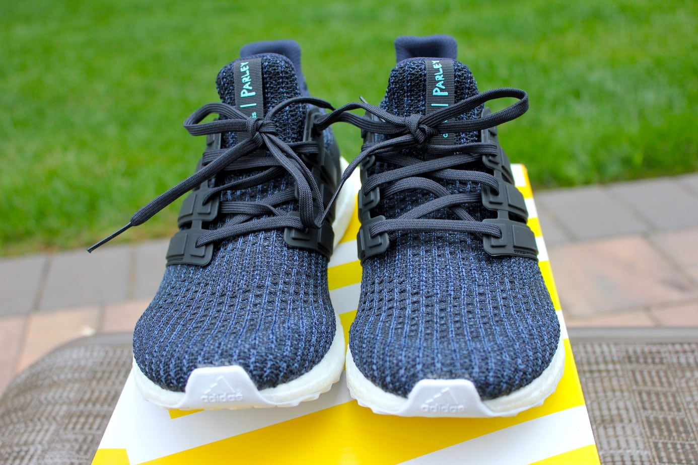 "76461c7292092 Parley x adidas Ultra Boost ""Deep Ocean"" Color  Legend Ink Carbon-Blue  Spirit Release Date  June 20th"
