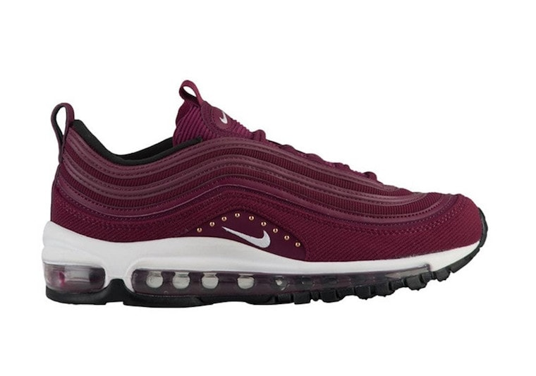 a028c54e187 The post Nike s Air Max 97 Launches in a Burgundy   Corduroy Combination  Just For Women appeared first on JustFreshKicks.