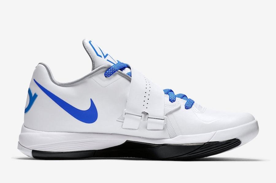 "f6ecc7bbd88d Nike KD 4 QS ""Thunderstruck"" Release Date - JustFreshKicks"