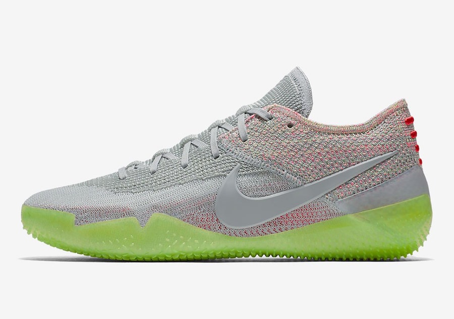 543bf87fc180 Nike Kobe AD NXT 360. Release Date  Summer 2018. Price   200. Color  Grey  Multi-Color Style Code  AQ1087-003