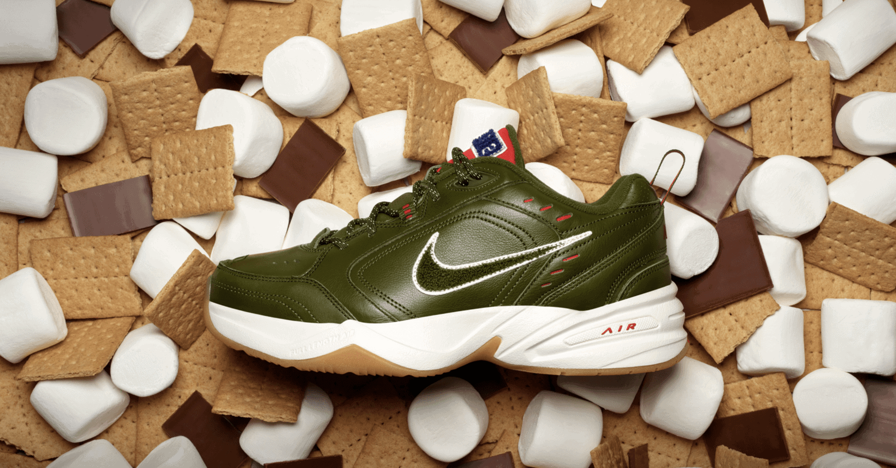 new concept ee006 1176c Nike may have just won Father s Day for sneakerheads. The Air Monarch, a  pillar of the brand as well as your local grill master s closet, is now  available ...