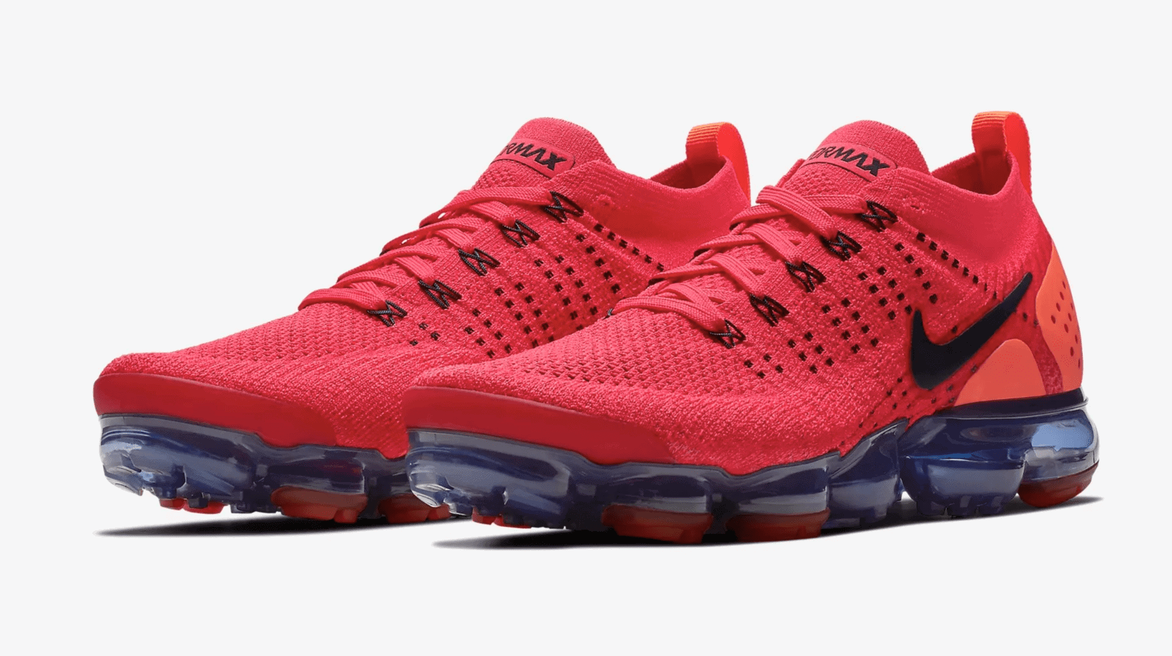 "8dec4887a9dee The Nike Air Vapormax Flyknit 2.0 is adding more Spring and Summer-ready  colorways to its already burgeoning arsenal. Check out the bold new ""Red  Orbit"" ..."