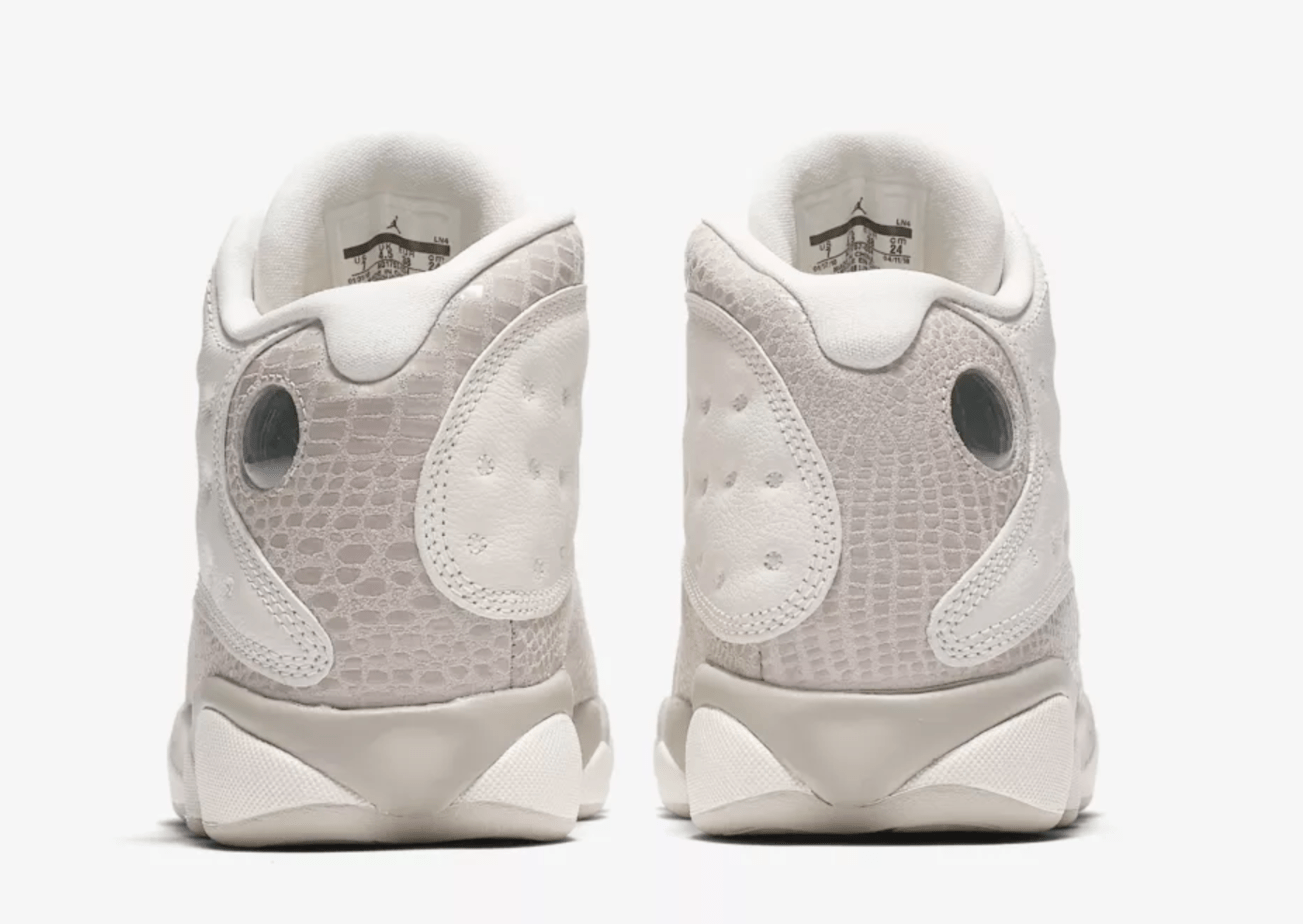 """competitive price 508d1 18571 The post The Air Jordan 13 Drops in a Women s Exclusive """"Phantom"""" Colorway  Next Week appeared first on JustFreshKicks."""