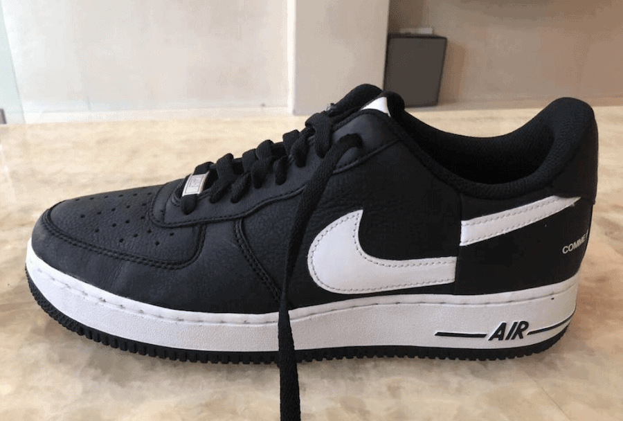 5cd3039573c Supreme and CDG Team Up Once Again on a Wild New Nike Air Force 1 Low