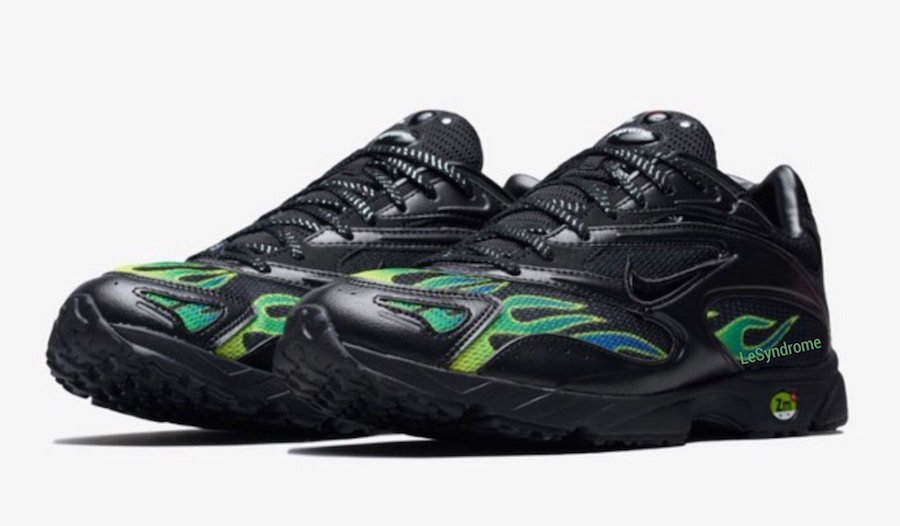 5cddc3365a73 Supreme x Nike Zoom Streak Spectrum Plus Early Look - JustFreshKicks