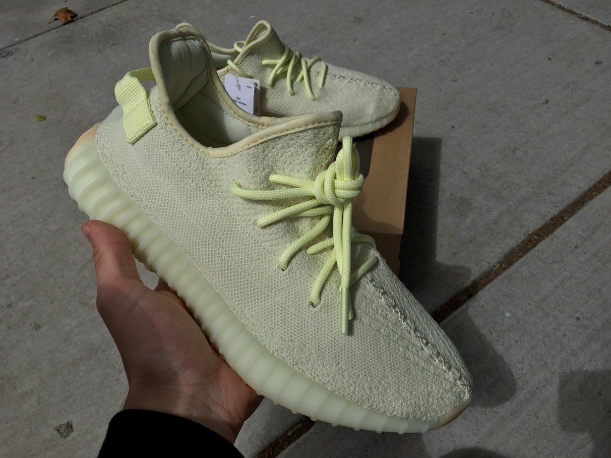 "be97cc683b8742 In-Hand Review of the adidas Yeezy Boost 350 V2 ""Butter"" Dropping This  Weekend"