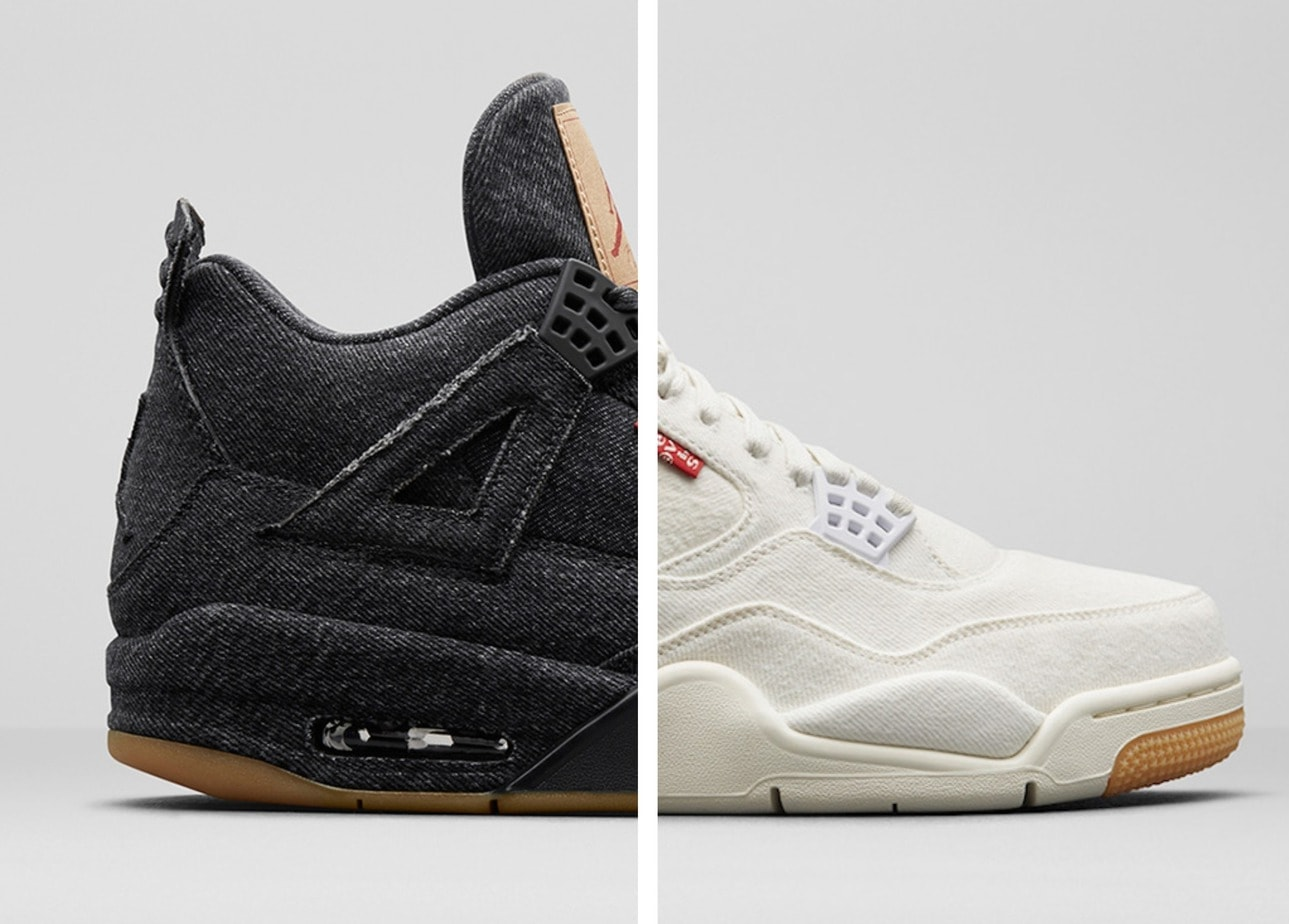 "80b107bc686c78 The Levi s x Air Jordan 4 ""Denim"" was one of the most-talked-about releases  of the year. Now"