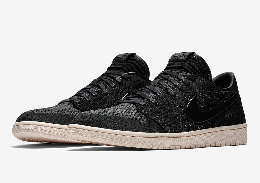 "purchase cheap bbc0e 722cc The Air Jordan 1 Low Flyknit is official. After an early leak last week  showing the ""SBB"" colorway, official images have surfaced online of the  latest ..."
