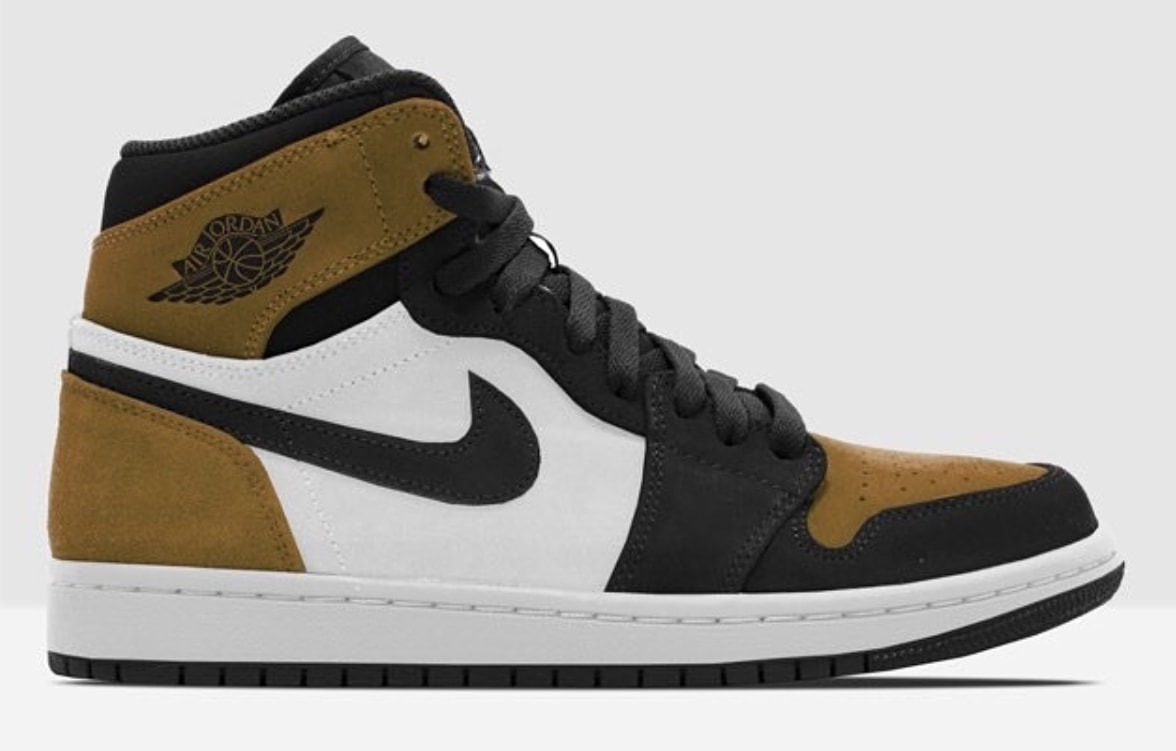 """huge discount 4561d d4d97 The post The Air Jordan 1 Celebrate s Mike s ROTY With a New """"Wheat Toe""""  Colorway appeared first on JustFreshKicks."""