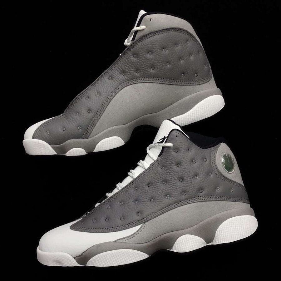 "huge discount 8e3d3 e9cc4 UPDATE  The Air Jordan 13 Retro ""Atmosphere Grey"" is now scheduled to  release next Saturday, March 23rd. Stay tuned to JustFreshKicks for release  links."