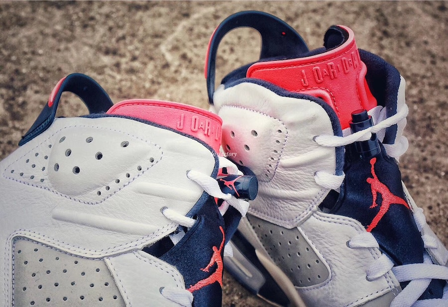 "debe6f37618 The post The Air Jordan 6 ""Tinker"" Surfaces in Early Images Online appeared  first on JustFreshKicks."