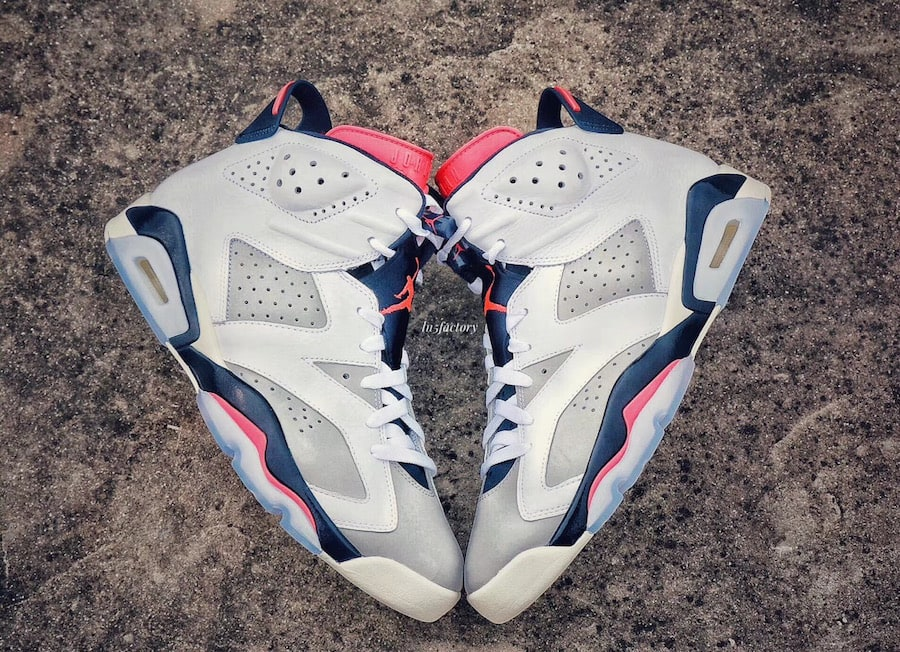 """3c4e98637a70 The post The Air Jordan 6 """"Tinker"""" Surfaces in Early Images Online appeared  first on JustFreshKicks."""