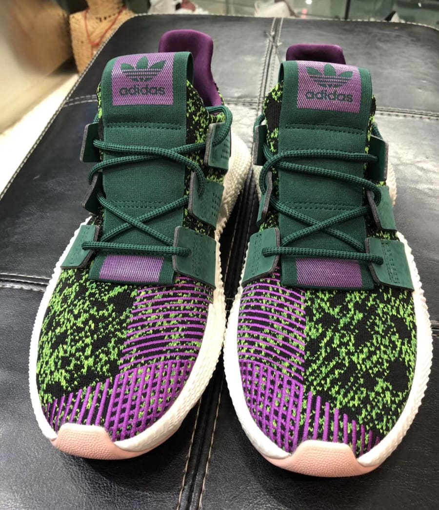 """1cadd2f9d1c Dragon Ball Z x adidas Prophere """"Cell"""" Release Date  September 2018. Price    150. Style Code  D97053"""